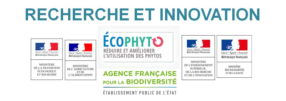 Appel à projets de recherche et d'innovation: «Produits phytopharmaceutiques: de l'exposition aux impacts sur la santé humaine et les écosystèmes»