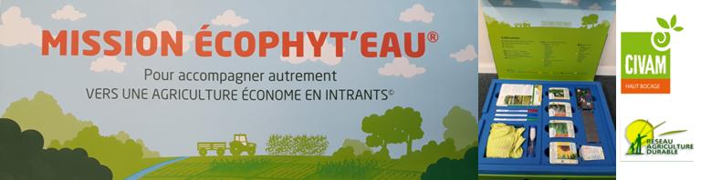 Mission Ecophyt'Eau, pour accompagner autrement vers une agriculture économe en intrants