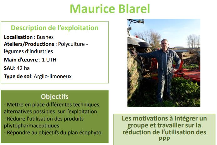 Témoignage de Maurice Blarel, producteur de pommes de terre à Busnes