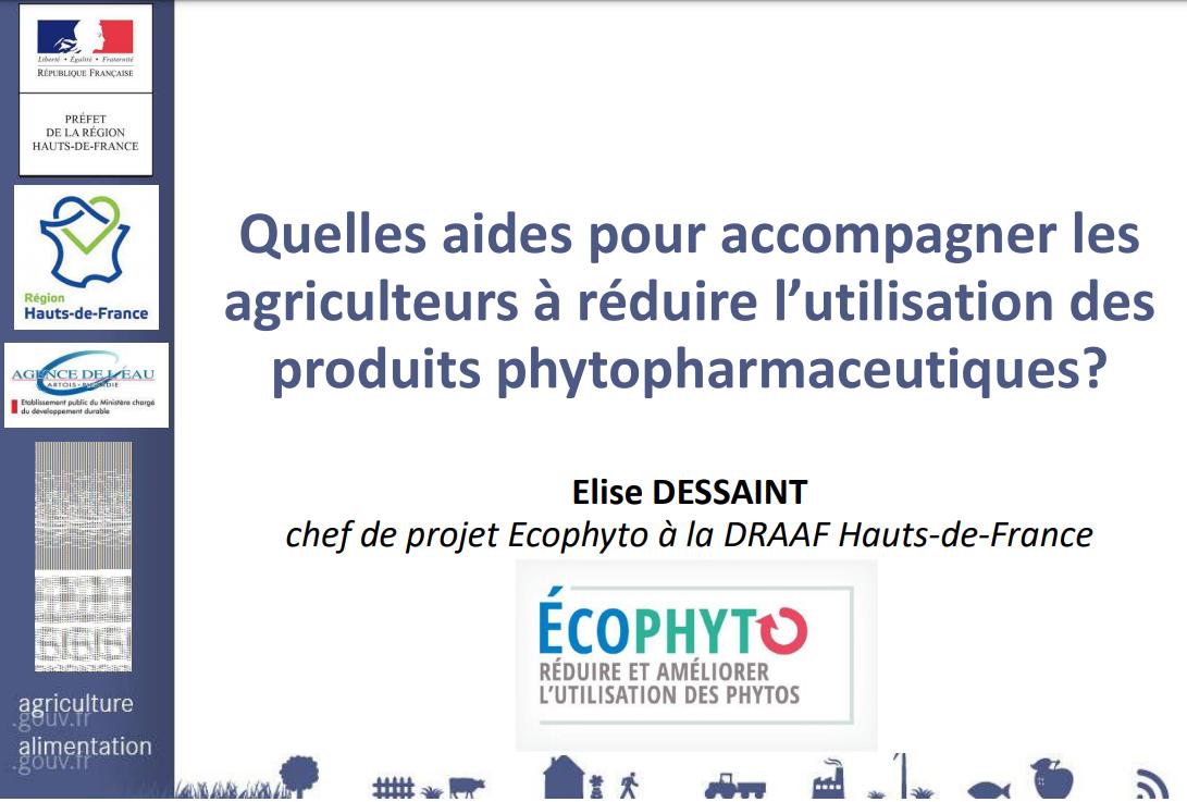 Quelles aides pour accompagner les agriculteurs à réduire l'utilisation des produits phytopharmaceutiques?